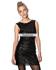 paillet kjole